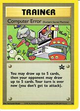 POKEMON PROMOTIONAL CARD NUMBER 16 COMPUTER ERROR grade nm