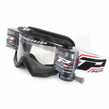 Progrip 3201-RO Race Line Motocross Goggles Black with RnR-XL-36mm Roll Off