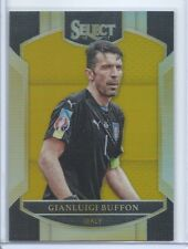 2016-17 PANINI SELECT GOLD PRIZM PARALLEL TERRACE GIANLUIGI BUFFON /10 ITALY