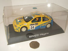 Scalextric C.2029 Renault Megane Rally Slot Car- Front Lights, Magnatraction etc