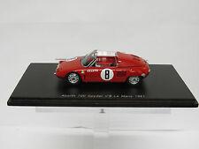 Abarth 700 Spyder nº8 Le Mans 1961 Spark 1/43 S1335