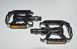 WELLGO Alu Pedale M-224 schwarz / silber MTB ATB Trekking