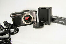 Olympus PEN E-P2 12.3MP Digital Camera Black Body Only [Excellent] w/ Cap Japan