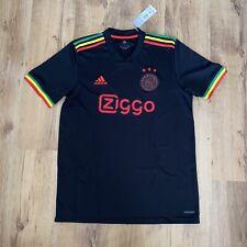 More details for ajax football shirt third shirt 21/22 2021/22 bob marley size large adidas bnwt