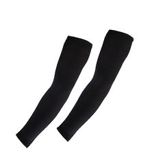 Basketball Arm Sleeves Arm Coolers Protective Gear UV Solar Protection BLACK