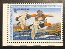 Tdstamps: Us Federal Duck Stamps Scott#Rw54 $10 Mint Nh Og