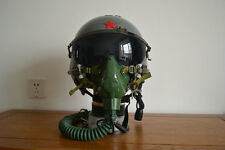 China Air Force High Altitude MiG-21 Fighter Pilot Helmet,Flight Mask