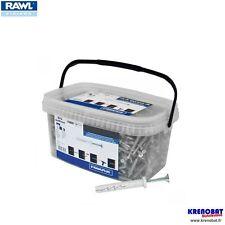 RFX-N-06C040-JB : 1000 chevilles à frapper nylon en seau Ø6x40 RAWL (tap vis)