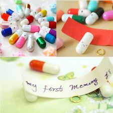 Fancy Cute Expression 50 Pcs Popular Special Love Capsule Cute Letter Pills