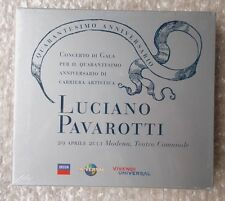 LUCIANO PAVAROTTI ~ QUARANT'ANNI PER LA LIRICA ~ 2 x CD ALBUM ~ NEW & SEALED