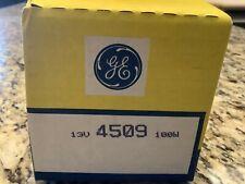 GE LIGHTING 4509 Halogen Sealed Beam Spotlight,PAR36,100W - CHARITY AUCTION!