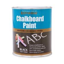Rust-Oleum Tableau à craie Peinture Noir Mat 2.5L DURABLE séchage rapide