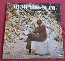 MEMPHIS SLIM 2 LP ORIG FR THE BLUESMAN  NM+