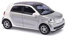 Smart Forfour W453 2014-15 plata plata metálico 1:87 Busch