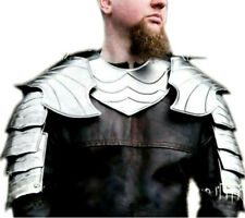 X-Mas Elf Cosplay Shoulder Armor Pair Of Pauldrons And Metal Gorget Elven