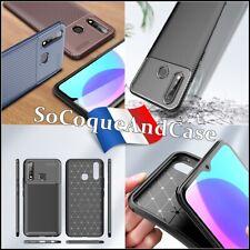 Etui Coque Housse Silicone Carbon Fiber Design soft Case Cover VIVO U3 / Y19