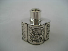 ANTIQUE CHINESE EXPORT SILVER PEPPER SHAKER - Wang Chung, Hong Kong.