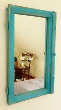 Alte Fenster shabby chic Antik Spiegel Vintage Sprossenfenster upcycling Patina