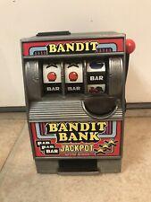 1980s Slot Machine Bank