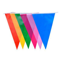 Multi Colour Banner Bunting Party Event Home Garden Decoration G4X9 SGH