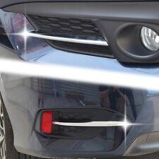 Front Rear Head Fog Light Cover For Honda Civic 10th Gen 16 17 18 Trim Bezel