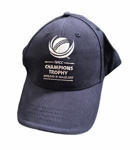 ICC Men's Cricket Cap Logo Champions Trophy 2017 Cap Hat - Navy - New