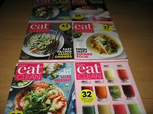 EAT CLEAN - Six Cooking Magazines - Magazines 1 to 6