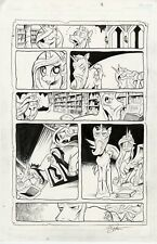 MY LITTLE PONY original comic page REFLECTIONS issue 17 page 18 by Andy Price
