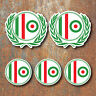 SCOOTER MOD ITALY ROUNDEL Laminated Sticker Set vespa Retro Italian Decal g