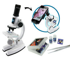 Microscope Set 41 Pce + Smartphone Viewer Kids Science Kit STEM Toys FREE Post