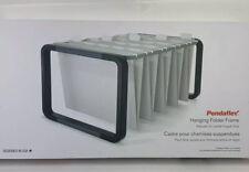 Pendaflex Adjustable Hanging File Folder Frame Letterlegal Size Black 44116