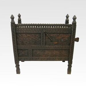 Antique swat valley marriage dowry chest #2550