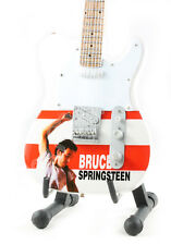 Miniature Guitar BRUCE SPRINGSTEEN with free stand