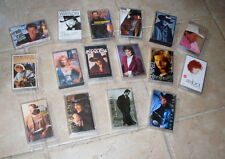 16 Country Music Cassette Lot Reba Travis Clint Black Billy Ray Gill Strait More