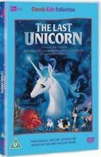 The Last Unicorn 1982 DVD (uk) Film Animation Children Movie