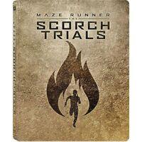The Maze Runner Scorch Trials Steelbook Blu-ray Best Buy