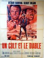 Plakat Kino Western Un COLT Und Le Diable - 120 X 160 CM