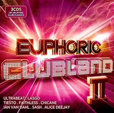 Various Artists : Euphoric Clubland 2 CD (2014) ***NEW***