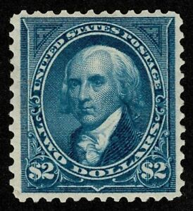 Scott#277 $2 President James Madison 1895 Mint H OG Well Centered