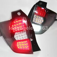 2010-2012 Year For Subaru Forester LED Tail Lights back Lamps black housing WH
