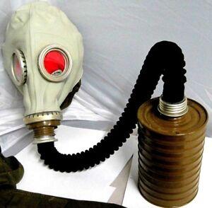 Gasmaske Gummischlauch  Mundschutz Gesichtsmaske  Schutzkleidung  Kohle Filter