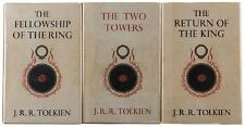 Tolkien, J.R.R. The Lord of the Rings Trilogy. 1st Edition. 1962.