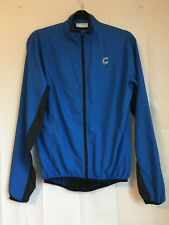 Cannondale Cycling Jacket Windbreaker Size Small Blue & Black Lightweight