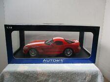 1/18 SCALE AUTOART RED DODGE VIPER SRT-10 COUPE