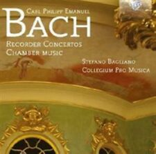 Carl Philipp Emanuel Bach - : Recorder Concertos; Chamber Music (2014)