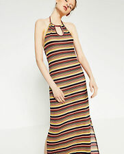 Zara Full Length Striped Dresses for Women