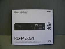Key Digital KD-Pro2x1 4K 18G HDMI Switcher, Audio De-embedding of Analog
