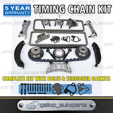 Timing Chain Kit + Gears for Holden Commodore VZ Rodeo RA 3.6L V6 UP TO 08/2006