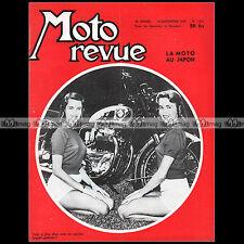 MOTO REVUE N°1365 BSA ROAD ROCKET TRIUMPH 650 T110 JAWA 250 CROSS DKW 350 1957