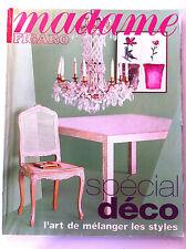 MADAME FIGARO du 10/1996;  Spécial Déco, l'art de mélanger les styles